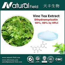 National grade R&Dcernter guided antioxidant vine tea dihydromyricetin 98%
