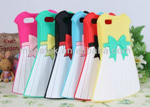 Mobile phone case skirt 3d silicone case for iphone 5s 4 4s, for iphone case 5s 4s 6 ,for iphone 5 case silicone cover