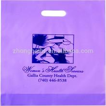venta caliente de plástico biodegradable bolsa de la compra