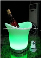 Beer plastic ice bucket with high quality and competitive price/led ice bucket for party/ice bucket with stand