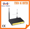 Cheap cellular Router 3g wifi router with sim card slot & RS232/485 & 4 LAN ports(RJ45) support VPN & QoS for DVTS & DVR