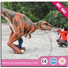 Life size simulation dinosaur mascot