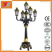 Energy - saving cast iron garden lights