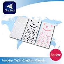 OEM Transparent Sticker, Mini PVC Sticker, Plastic Sticker
