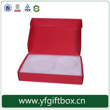 Folding paper packaging wholesale rigid packaging boxes corrugated box