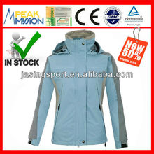 Skiing wear for women, hiking, camping, traveling and mountain coat, factory outlet jacket (C012)