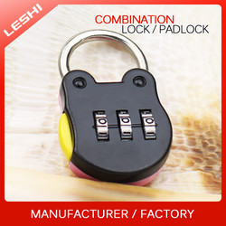 Frog Shape Digital Zinc Alloy Lock, Mini Animal Shaped Lock