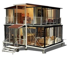 Convenient cheap price light steel modular house portable housing container house price