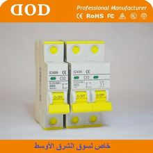 NF 63A mcb mini Circuit Breaker 2P 3P 4P iran approval