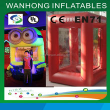 Customized new style inflatable cube inflatable cash money for promotion