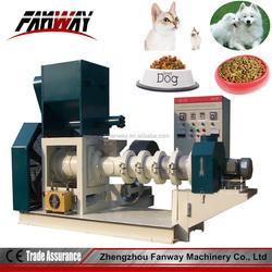 700-800kg/h single screw dog / cat / pet food manufacturing machine with CE