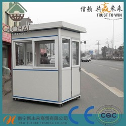 2015 Latest luxury mobile prefabricated sentry box/ guard house