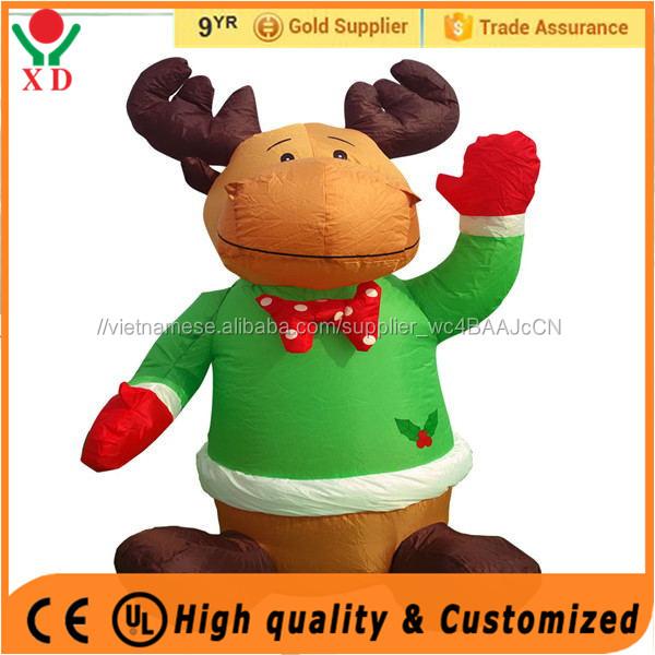 2018 bán Hot giáng sinh trang trí ngoài trời kỳ nghỉ Inflatable sân trang trí Moose Đảng Trang Trí
