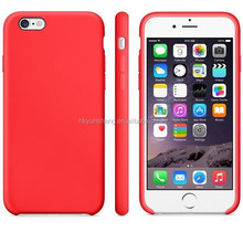 silicone custom logo free sample mobile phone case for iphone 6