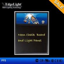 Edgelight PF5 advertising led writing board menu board