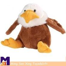 Wholesale alibaba plush soft toy bird falcon soft toys