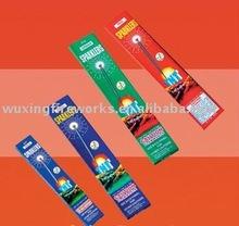 Different Shape Gold Sparkler Fireworks (2012 star products )
