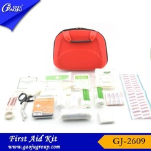 Free sample available fashion colorful pp box first aid kit for burns and scalds