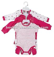 fashion design 4piece i one set baby clothes 82535
