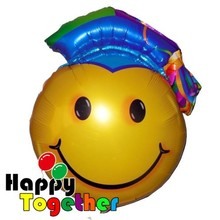 HAPPY TOGETHER Factory Wholesale Hot Selling 36inch Big DOCTOR SMILE FACE Helium Balloon