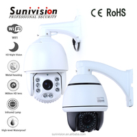 Dome cover 360 viewerframe mode night vision PTZ cctv camera face recognition