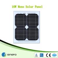Mono high efficiency solar panels in dubai 10W solar panle price
