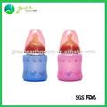 Caliente de la venta funda de silicona para la botella de vidrio
