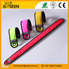 new designed popular led light armband flashing led slap wristband bracelet for running