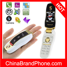 F9 White , Car keys Personality Mobile Phone , Dual sim card Dual standby