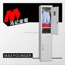 2015 trendy shoes cabinet/change room 2 door gym metal steel locker