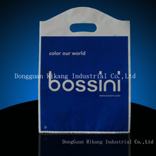 Plastic Die cut LDPE shopping bag