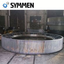Custom Casting Rotary Kiln Replacement Girth Gear Of Investment Precision Casting