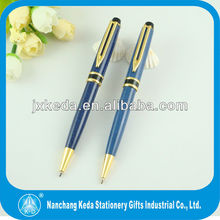2014 new design clip hot selling personalized ink bussiness engraved ball pen with logo
