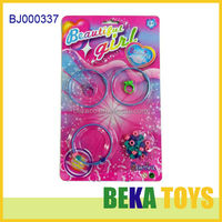 Cheap toys for kids 2014 plastic bangle jewelry toys baby DIY bead bracelet