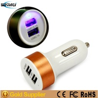 Universal 5V 2.1A 2 usb ports car charger adapter