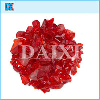 Wholesale fire place tumbled glass chips