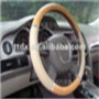 spining blue fabric neoprene steering wheel cover summer car accessories