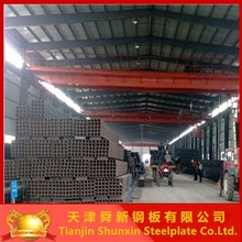 Q345B Yeild 345Mpa square hollow tube/square iron pipe manufacturer