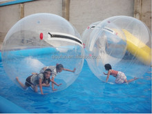 Inflatable floating air colorful bubble ball water walking for sale