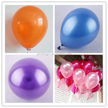 wholesale lightweight colorful latex balloons for 2015 party supplies