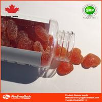 sugar coated/sugar free different shape gummy health product