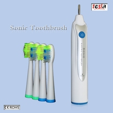 TESLA MAF8100 Health care weterproof replaceable small head electric toothbrush