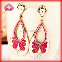 2014 the new design just for you to express yourself Oil Drop Earrings
