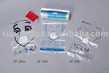 ST-101 ST-101C ST-104 CPR mask in roll,CPR ROLL