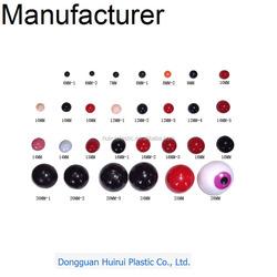 Safety Non Toxic Plastic noses round ball shape noses stuffed animal/pet/plush toys