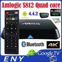 Cable tv set top box chipped tv box android XBMC Amlogic S812 Quad core tv box