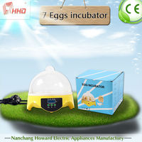 Newest family type very popular full automatic brand incubator with music YZ9-7