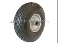 10*3.00-4 solid PU wheelbarrow wheel from china supplier