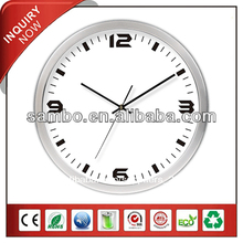 2014 de metal decoración de la pared del reloj mecanismo reloj pared