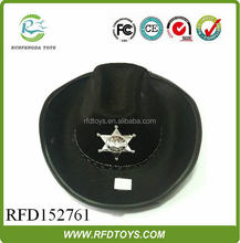 Factory wholesale high quality cloth cowboy hats,best selling cowboy hats,top hat